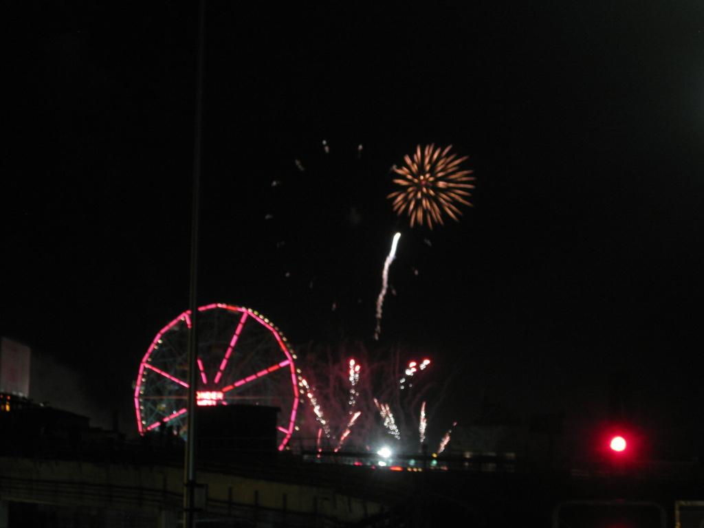 I love fireworks.