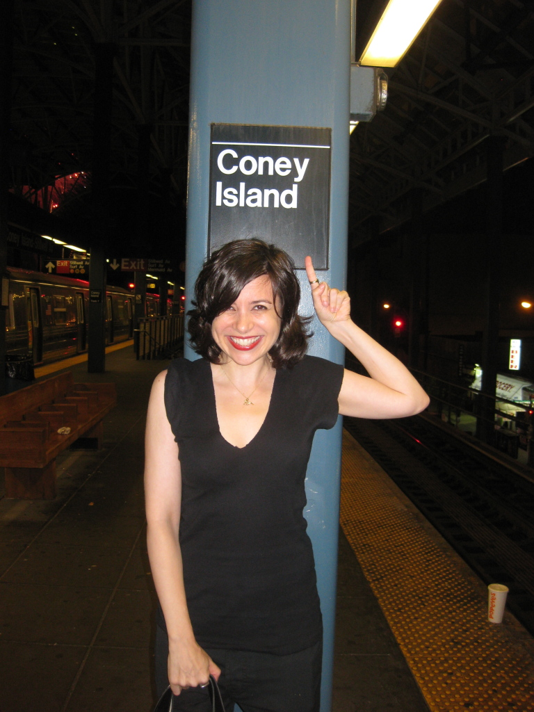 Proving that I took the subway home.