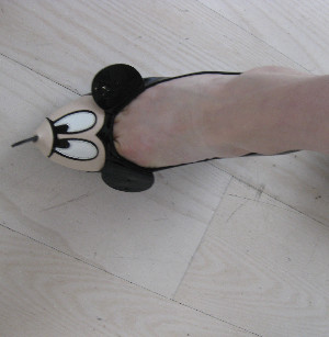 de Castelbajac Mickey Mouse shoes