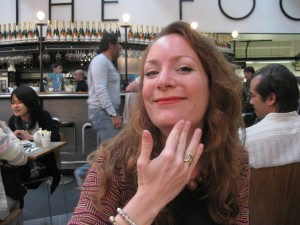 Samantha with the Cleves ring.