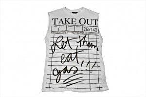 Jeremy Scott's take-out tank