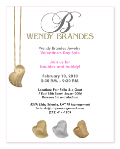 Valentine's Day Sale on February 10