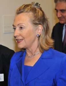 Drawing the Line at Hillary Clinton's Hair Clip