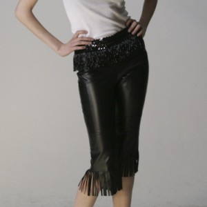 Vintage Leather Shorts, Darling