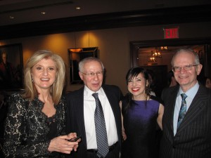 On the Town: Huffington and Didion at Columbia Spectator Dinner