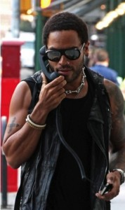 Can't Get Lenny Kravitz's Phone Action Out of My Head
