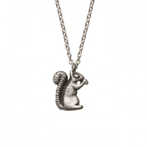 Valentine's Day Countdown, Day 4: Squirrel Necklace
