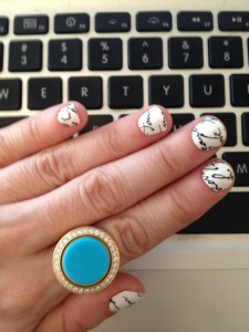 Love Letters: On My Nails and in the Sand