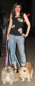 What Wendy Wore: Betsey Johnson Punk Label for Dog Walking