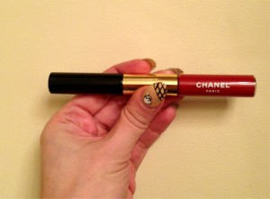 Red Lipstick #4: Chanel Rouge Double Intensité in Ruby Lite