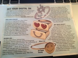 WWD Likes Social-Media Jewelry; Buy Yours From Me!