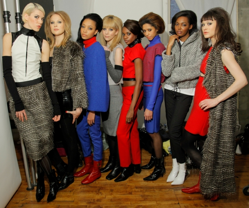 KIM HICKS NYC FW FEB 2012