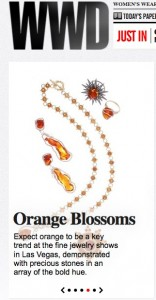The Orange Trend at JCK Las Vegas (See Me There!)