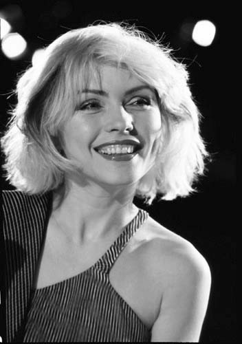 Debbie Harry black and white