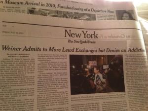 Go Away, Anthony Weiner and Huma Abedin!