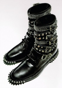 Boots for Fall: Daisies and Spikes