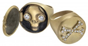 Jewels of the Month: Skulls, a Heart & Other Doctor-Worthy Studs