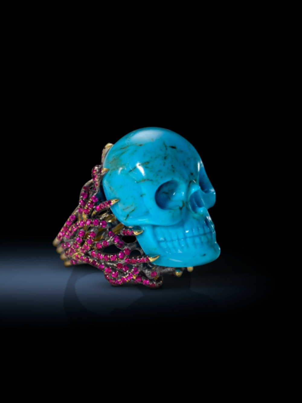 TurquoiseSkull Blackresize