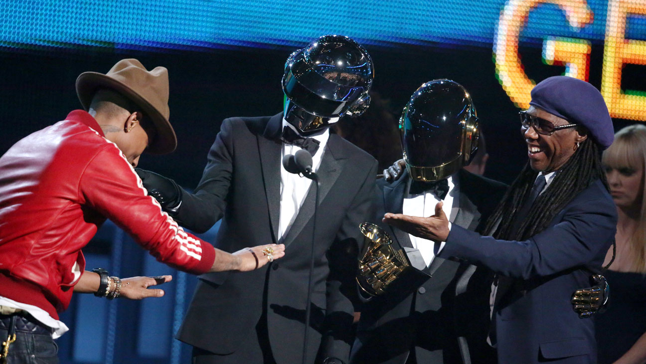 Pharrell Williams, Daft Punk, Nile Rodgers