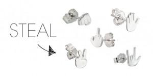 Wendy Brandes Jewelry's Emoji Earrings on Elle.com