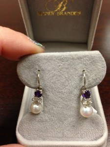 Jewel of the Month: Susan's Custom Birthstone Earrings