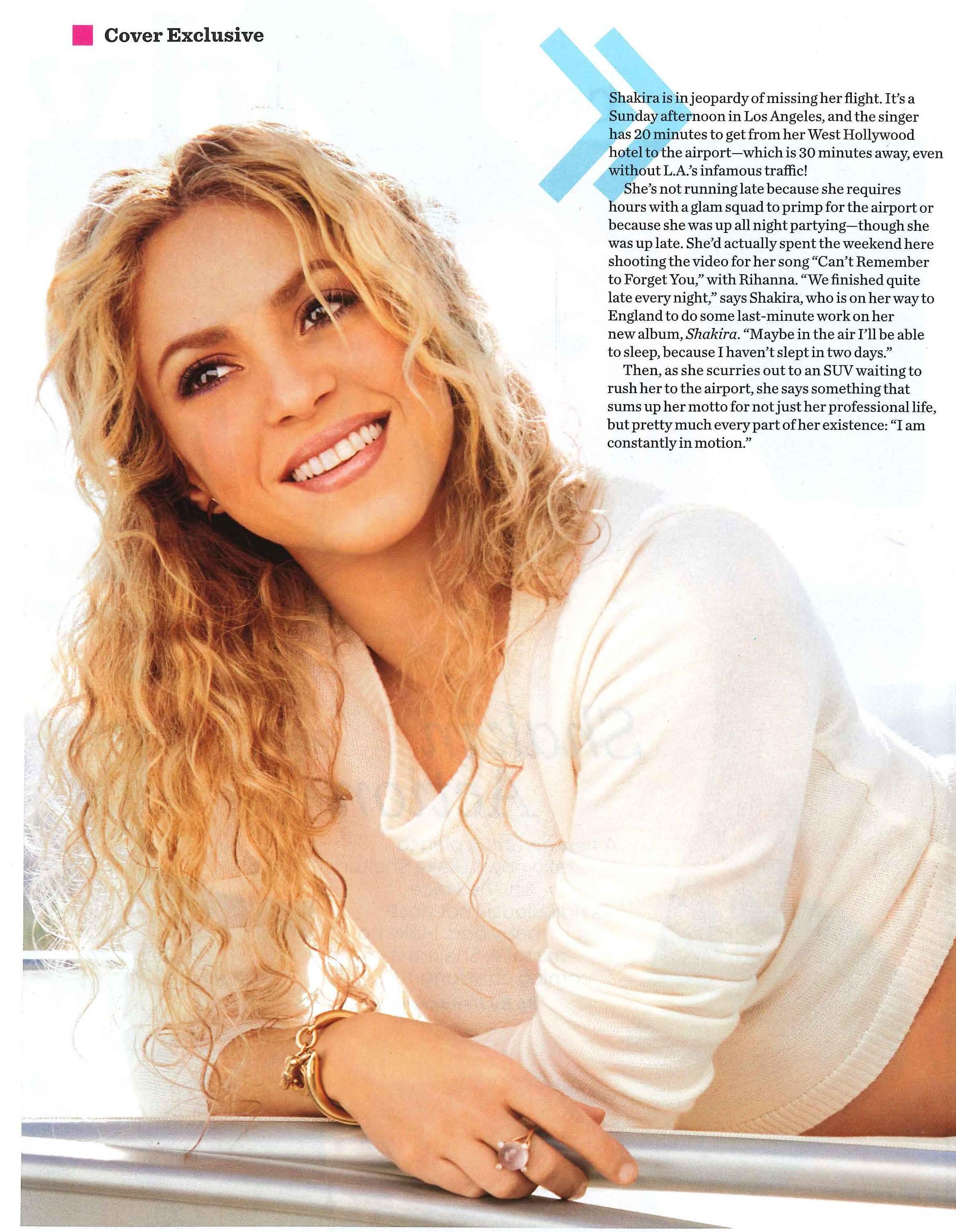 Shakira WH April 2014