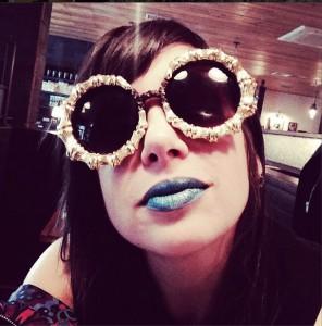 What Wendy Wore: Gangsta Boo's Sunglasses