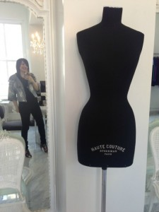 What Wendy Wore: Hanging Out at Zang Toi's Showroom