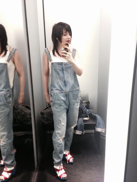 Spotted these overalls at Barneys.