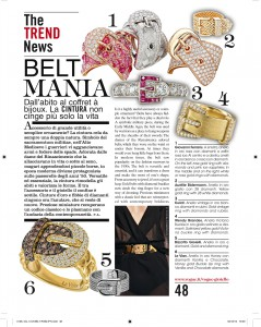 Wendy Brandes Jewelry in Vogue Gioiello