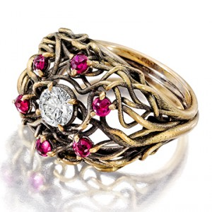 Jewel of the Month: Customizable Gold Engagement Ring