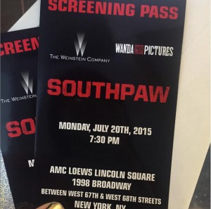 What Wendy Wore: Southpaw Premiere