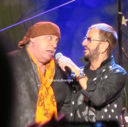 Stevie and Ringo on October 31.