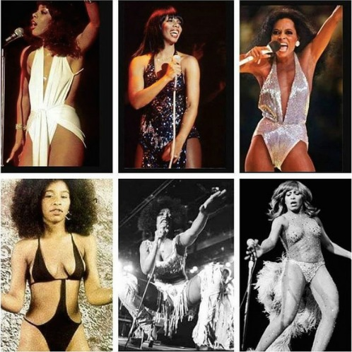 Donna Summer, Diana Ross, Chaka Khan, Tina Turner.