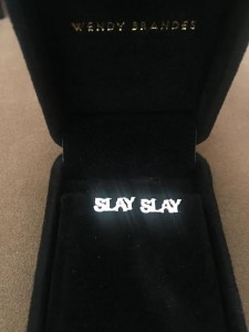 Slay Like Beyoncé With My New SLAY Studs