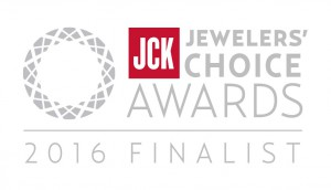 I'm a Jewelers' Choice Award Finalist!
