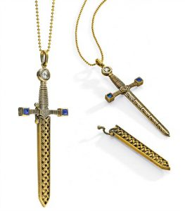 Jewels of the Month: Empress Matilda's Swords