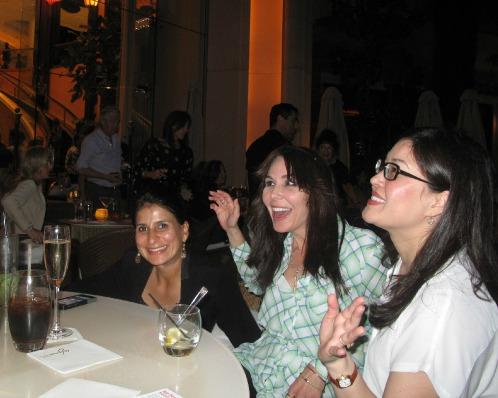 2014 Vegas Gems. From left: designers Shamila Jiwa, Katrina Kelly, Erika Winters. Click for original post.