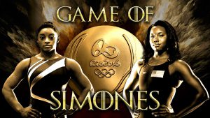The Great Simones and Gabby Douglas
