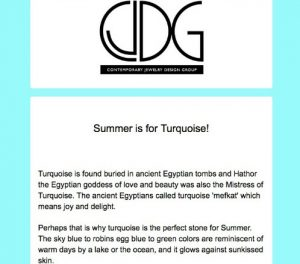Turquoise and Sunshine for Summer and Beyond