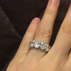 A Mind-Blowing Diamond Eternity Band