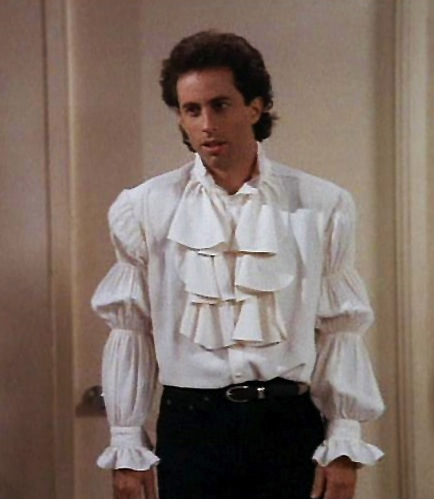 Jerry Seinfeld in the puffy shirt.