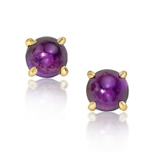 Jewels of the Month: Amethyst Studs, Madame Royale