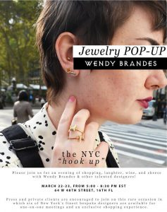 Come to Our Jewelry Pop-Up, March 22-23