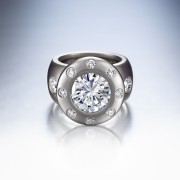Gravity Engagement Ring