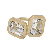 Clemence Ring - Rock Crystal
