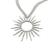 Gloriana Necklace - White Gold