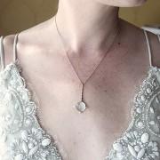 Selene Moonstone Necklace