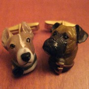Scott's Dog Cufflinks