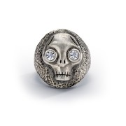 Chunky Juana Skull Ring